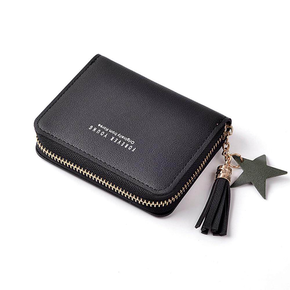 4e3ac4f25b47 Oaken Small Leather Wallet for Women, Credit Card Holder Mini Bifold Pocket  Purse