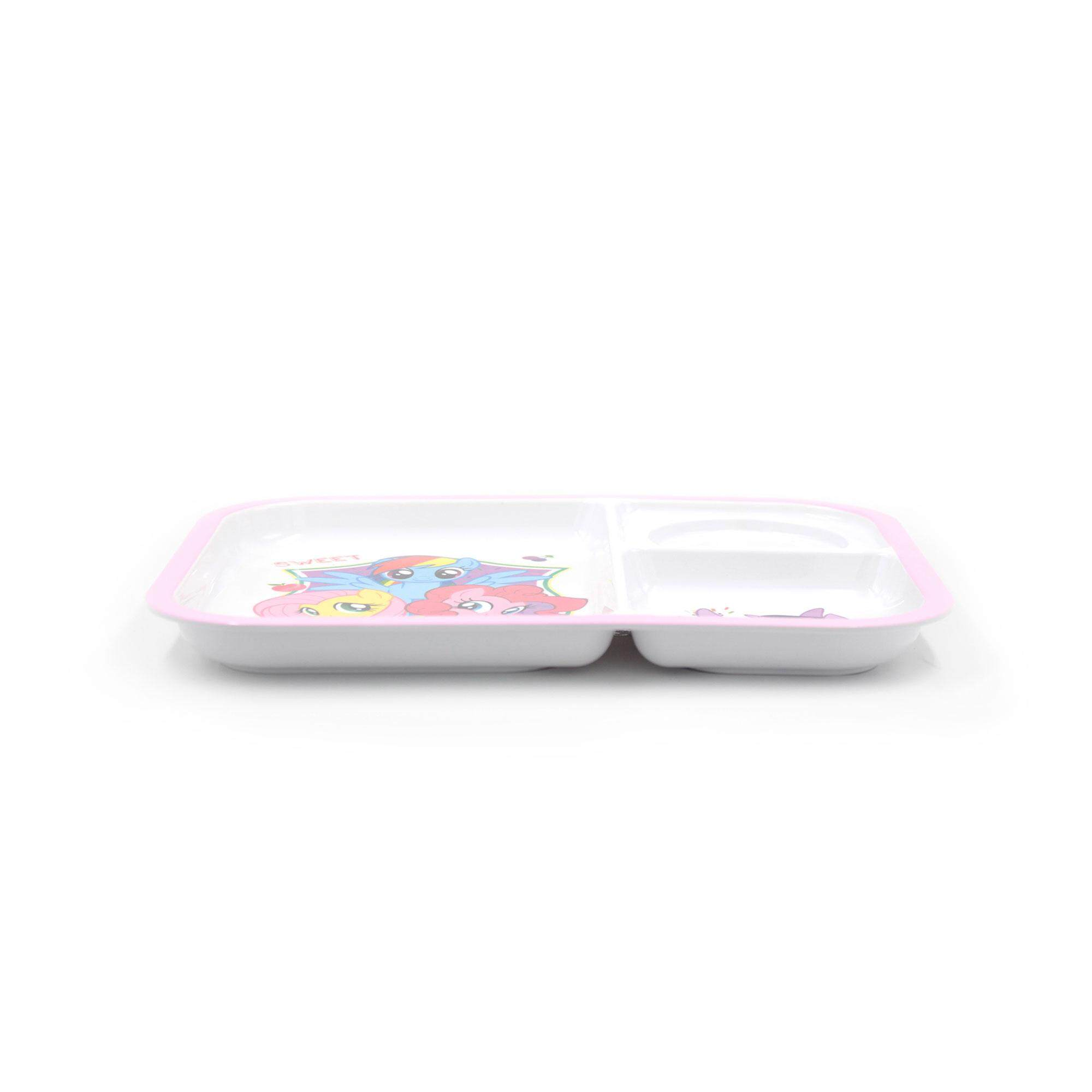 My Little Pony 3 Way Section Tray Kid's Party Plate - Friendship Is Magic