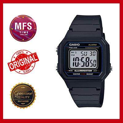 (2 YEARS WARRANTY) CASIO ORIGINAL W-217H-1A YOUTH DIGITAL UNISEX WATCH