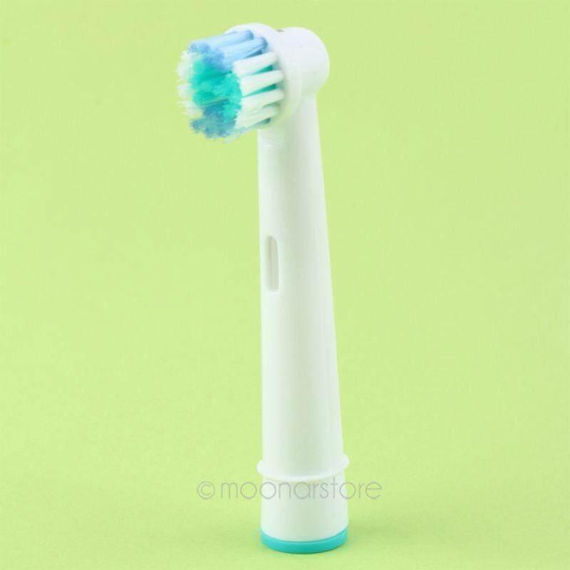 แปรงสีฟันไฟฟ้า ช่วยดูแลสุขภาพช่องปาก นครนายก Neu 4 Elektro Aufsteckbürsten für Braun Oral B หัวแปรงสีฟัน SB 17A