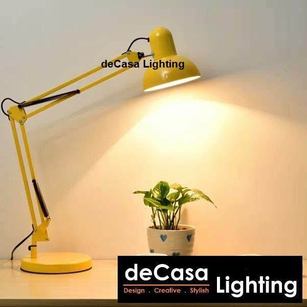 DECASA Modern Table Lamp Study Lamp Desk Lamp (BIG) (BHL-800B / BHL-814)
