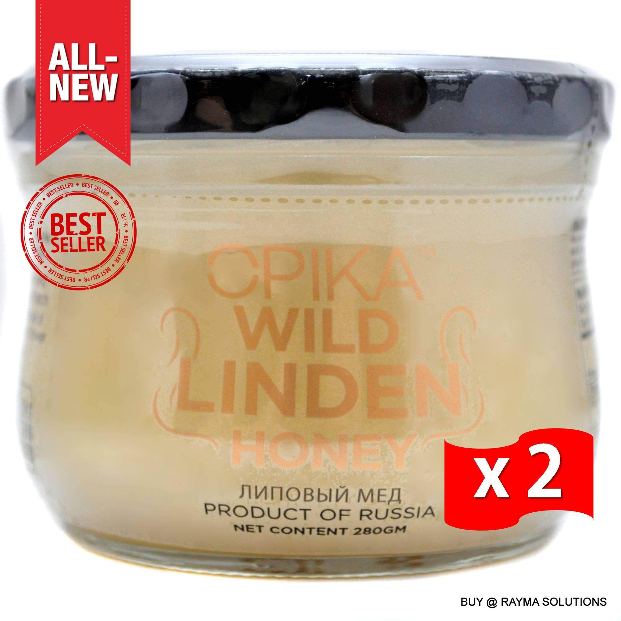 OPIKA Wild Linden Russian Honey 280g (Twin Pack)