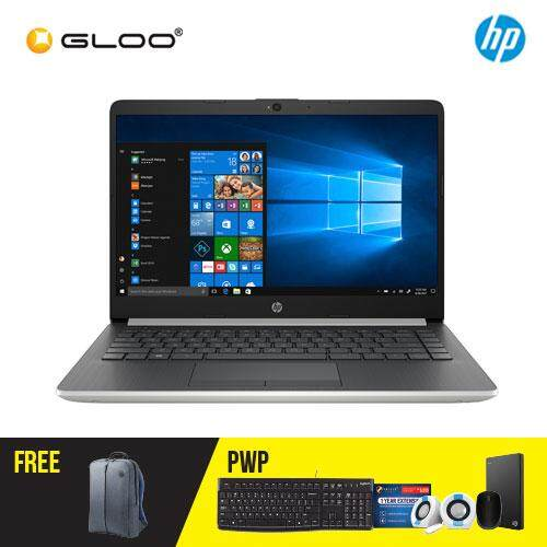 NEW HP 14s-cf1024TX / 14s-cf1025TX 14' FHD Laptop (i5-8265U, 1TB, 4GB, AMD Radeon 530 2GB ,W10) - (Gold/Silver) [FREE] HP Backpack