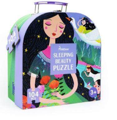 Mideer Gift Pack Puzzle -Sleeping Beauty Puzzle - 100 pcs toys education