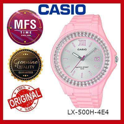 (2 YEARS WARRANTY) CASIO ORIGINAL LX-500H-4E4 SERIES YOUTH ANALOG-LADIES WATCH