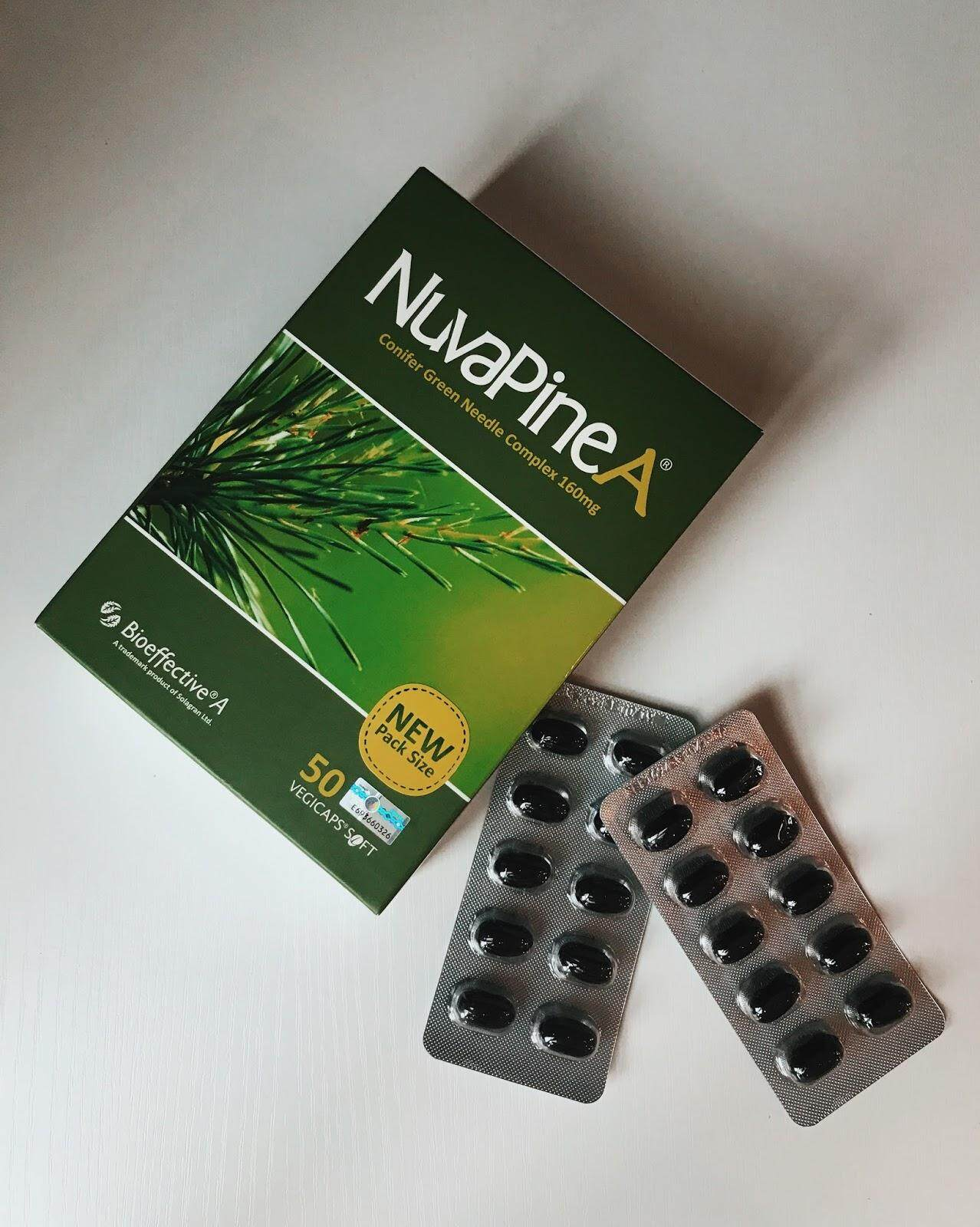 NuvaPine A 160mg 50 VegiCaps