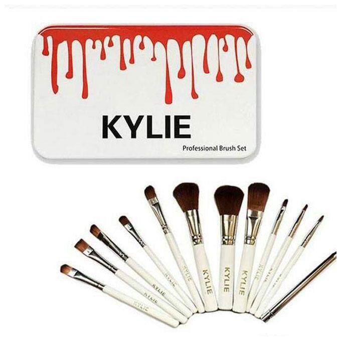KYLIE Makeup Brush Set 12pcs