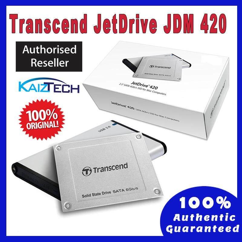Transcend 480GB SSD JDM420 SATA3 2.5 Solid State Drive / JetDrive 420 for Mac (TS480GJDM420) for Mac Mini, Macbook Pro, Macbook - Jet Drive 420
