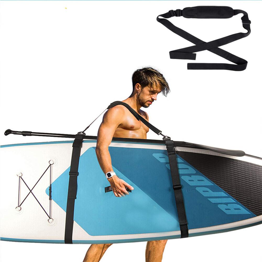 Hình ảnh Ván lướt sóng có thể điều chỉnh Vai Mang Sling đứng lên mái chèo ban dây đeo sup Board mang vành đai lướt sóng vây lướt sóng lướt sóng Kayak Unisex