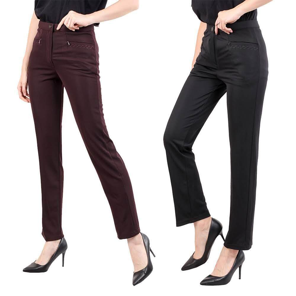 KM Women Skinny Straight Cut Trouser [M12761]
