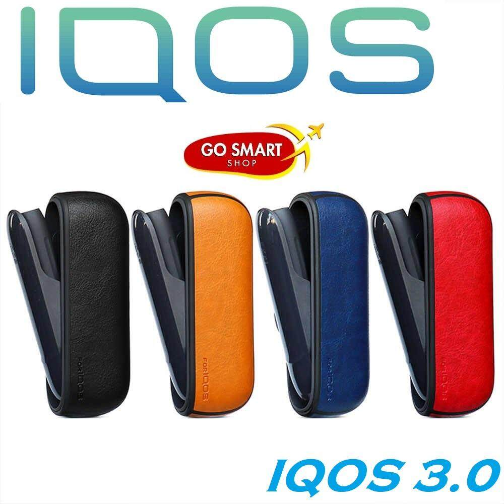 Solid Color Case For IQOS 3 PU Leather Case For IQOS 3.0 Carrying Case Sleeve Cover E Cigarette Accessories Storage Case