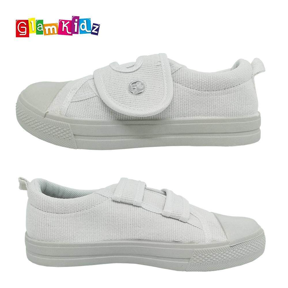 Barbie School Shoes (White) #3-1138