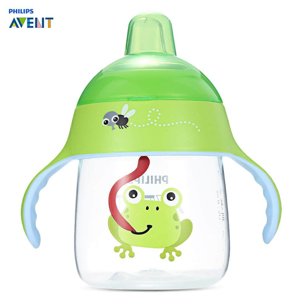 PHILIPS AVENT 9OZ / 260ML BABY HANDLE DRINKING SIPPING BOTTLE