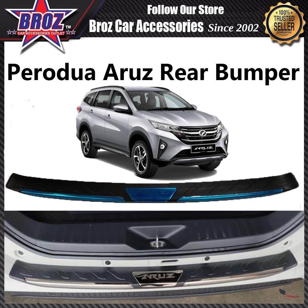 Perodua Aruz 2018-Present Rear Bumper Inner Protector Stainless Steel (1 Pcs)