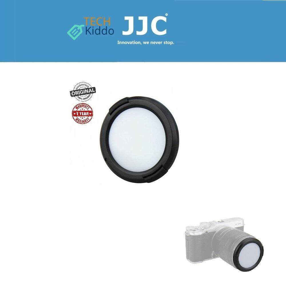 JJC WB-49 - WB-77 49mm 52mm 58mm 62mm 67mm 72mm 77mm White Balance Lens Cap Works with Any Digital Camera