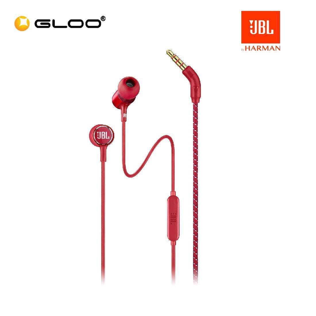 JBL Live 100 In-ear headphones Blue/Black/Red