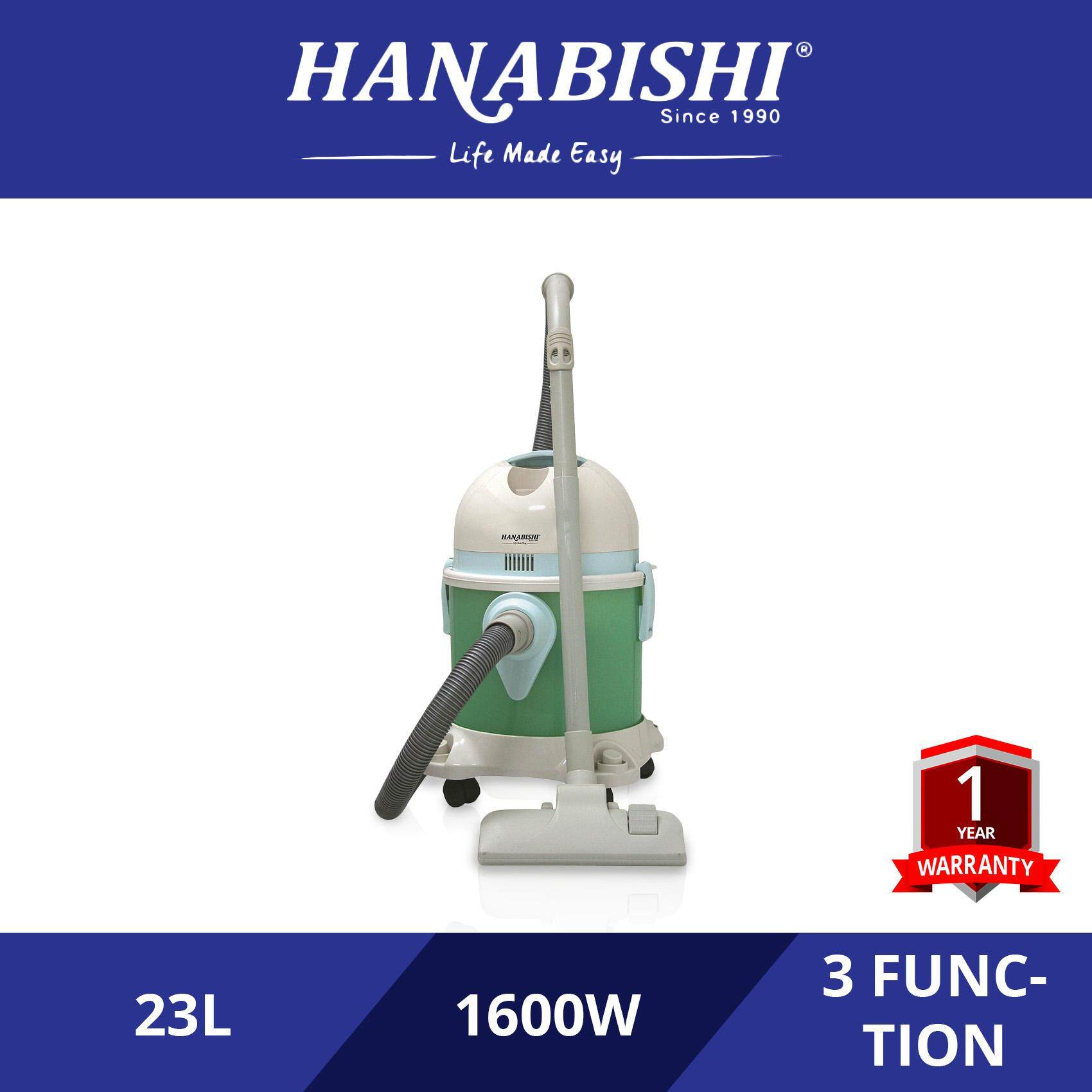Hanabishi Wet Dry & Blow Vacuum Cleaner HA2008
