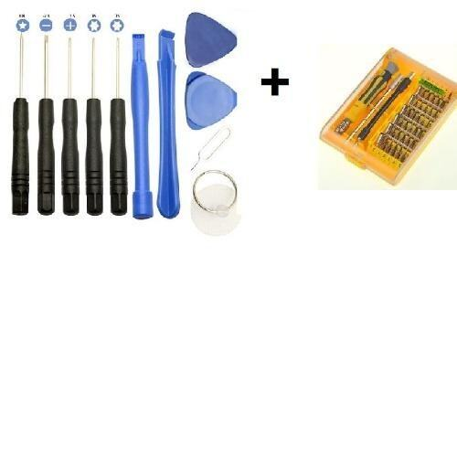 45 in 1 Multi Repair Tool Box Magnetic Hand Tools Kit Screwdrivers + 11 in 1 Iphone repair tool kit