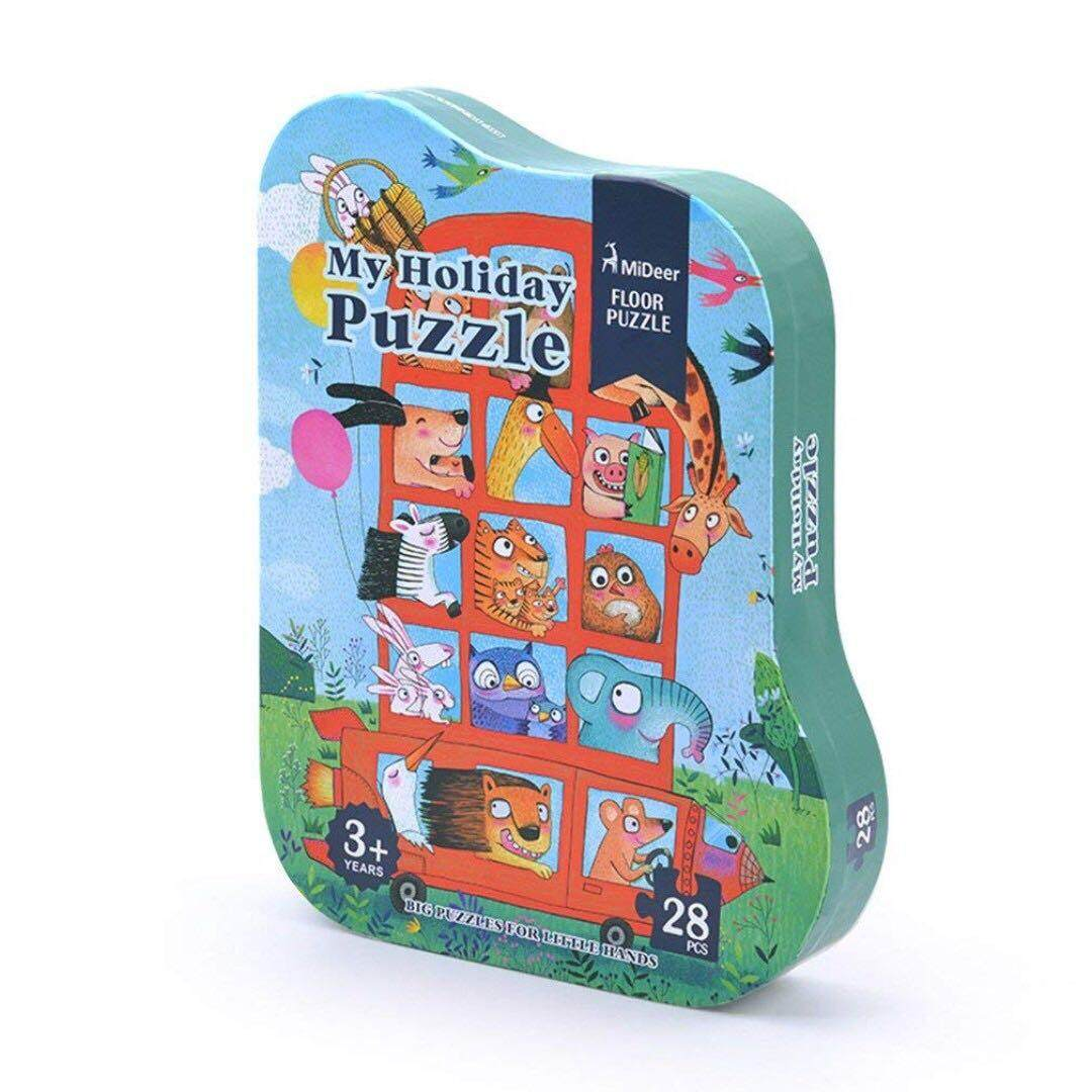 [All4kids] MiDeer My Holiday Puzzle