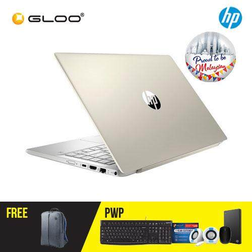 HP Pavilion 14-ce0084TX/ 14-ce0085TX Laptop (i7-8550U, 1TB+128GB, 4GB, W10) - (Silver/ Gold) [FREE] HP Backpack [Redeem: 1 Yr Microsoft Office 365 Personal - 17 Aug - 30 Sept 2019*]