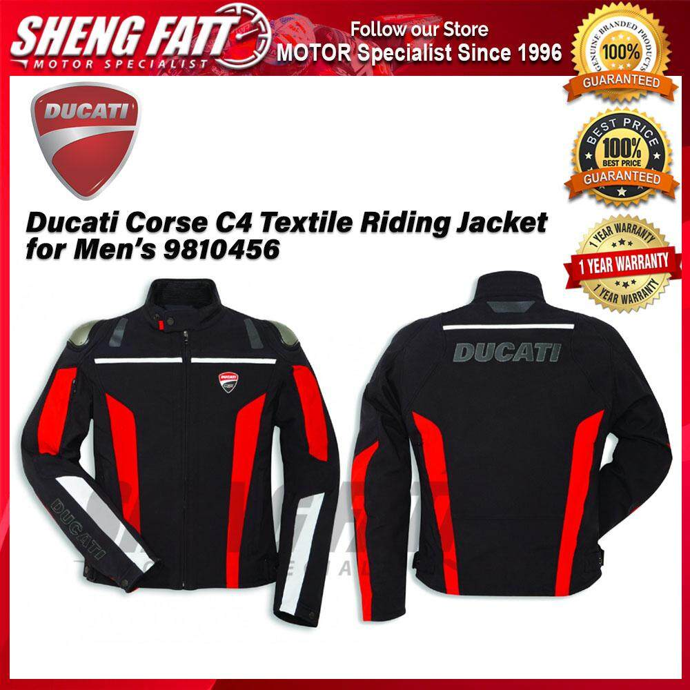 Ducati Corse C4 Textile Riding Jacket for Men's 9810456 - [ORIGINAL]