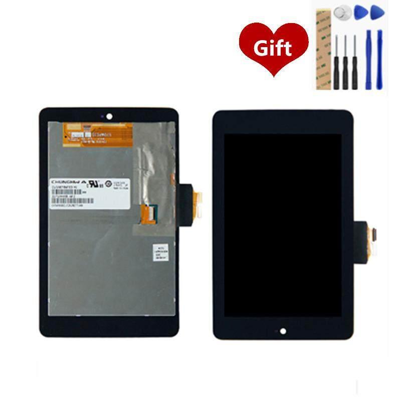 Dành cho Asus Google Nexus 7 1st Gen 2012 ME370T ME370 ME370TG MÀN HÌNH Hiển Thị LCD Bộ Số Hóa Hoàn Toàn Màn Hình Cảm Ứng LCD Tủ Lắp Ghép thay thế Các Bộ Phận Dự Phòng 7.0 inch