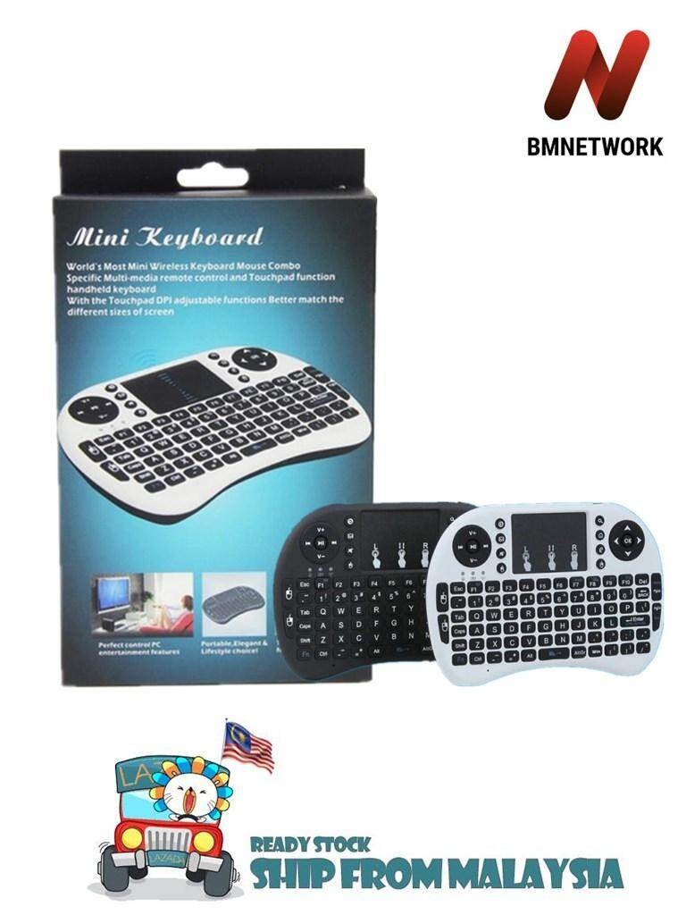 Mini i8 2.4G Fly Air Mouse Wireless Keyboard Touchpad