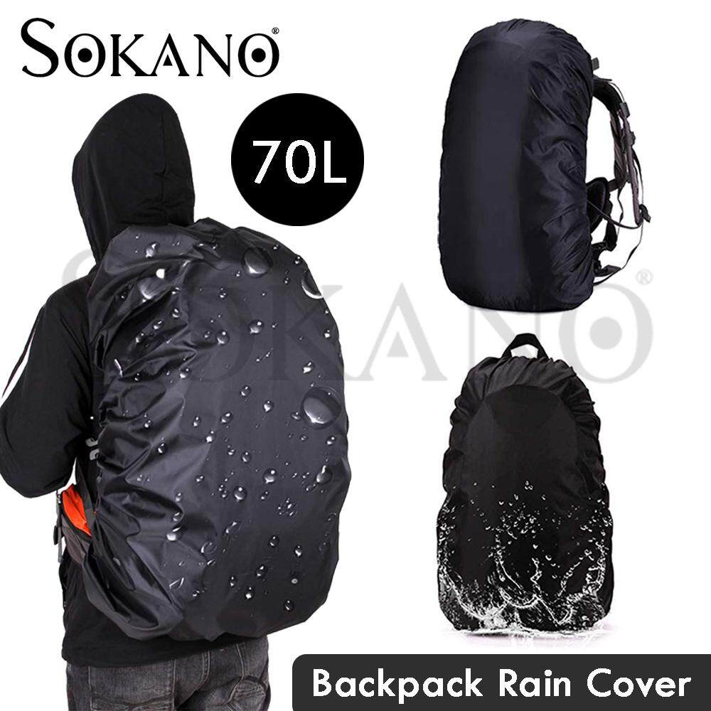 SOKANO Waterproof Outdoor Portable Military Camoflage Tactical Bags Cover Camping Hiking Waterproof Backpack Army Rucksack Bag Rain Cover
