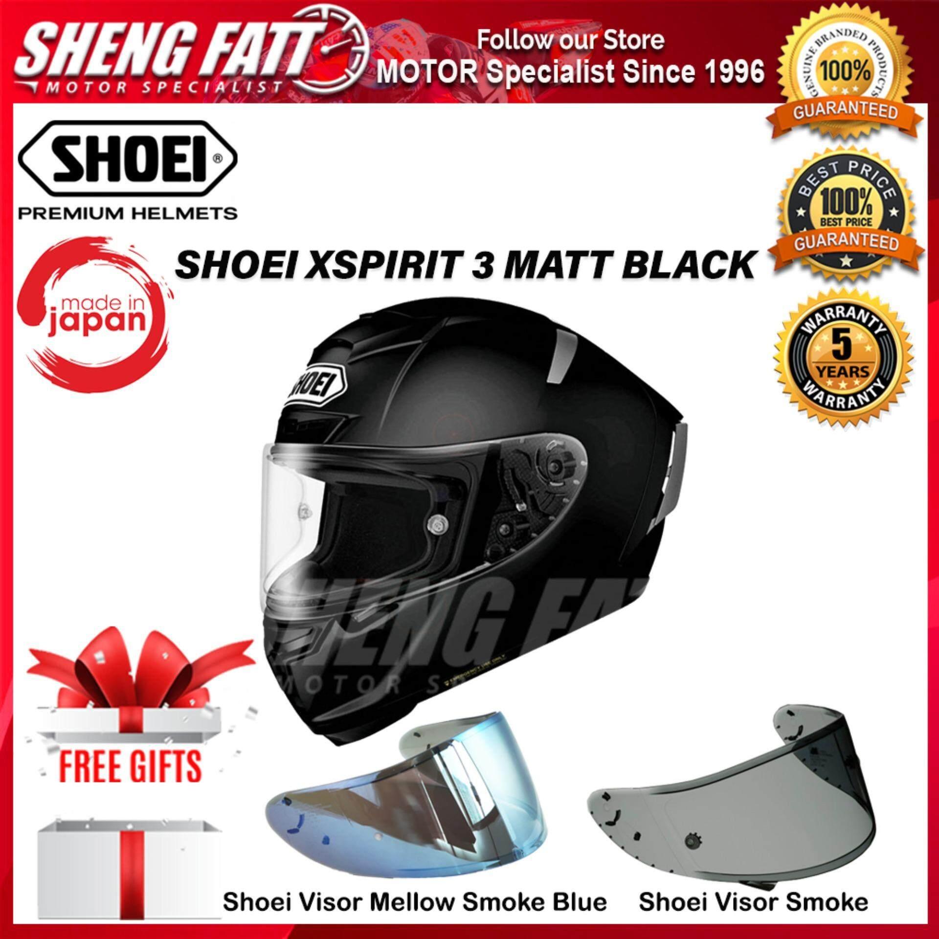 SHOEI X-SPIRIT 3 MATT BLACK - FULL FACE HELMET [ORIGINAL]