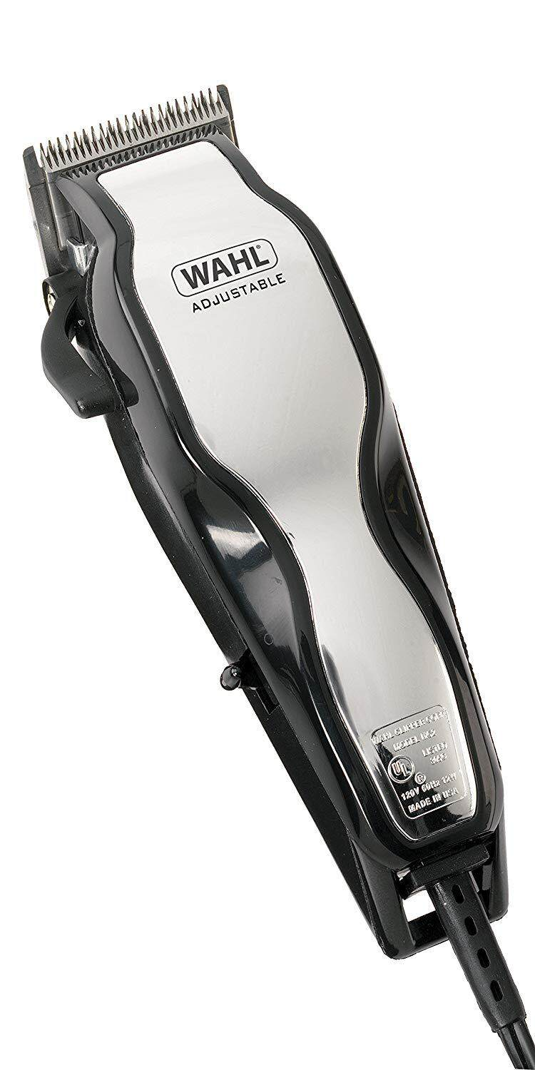 Wahl ChromePro 79524-800 Mains Hair Clipper Set with Instructional DVD