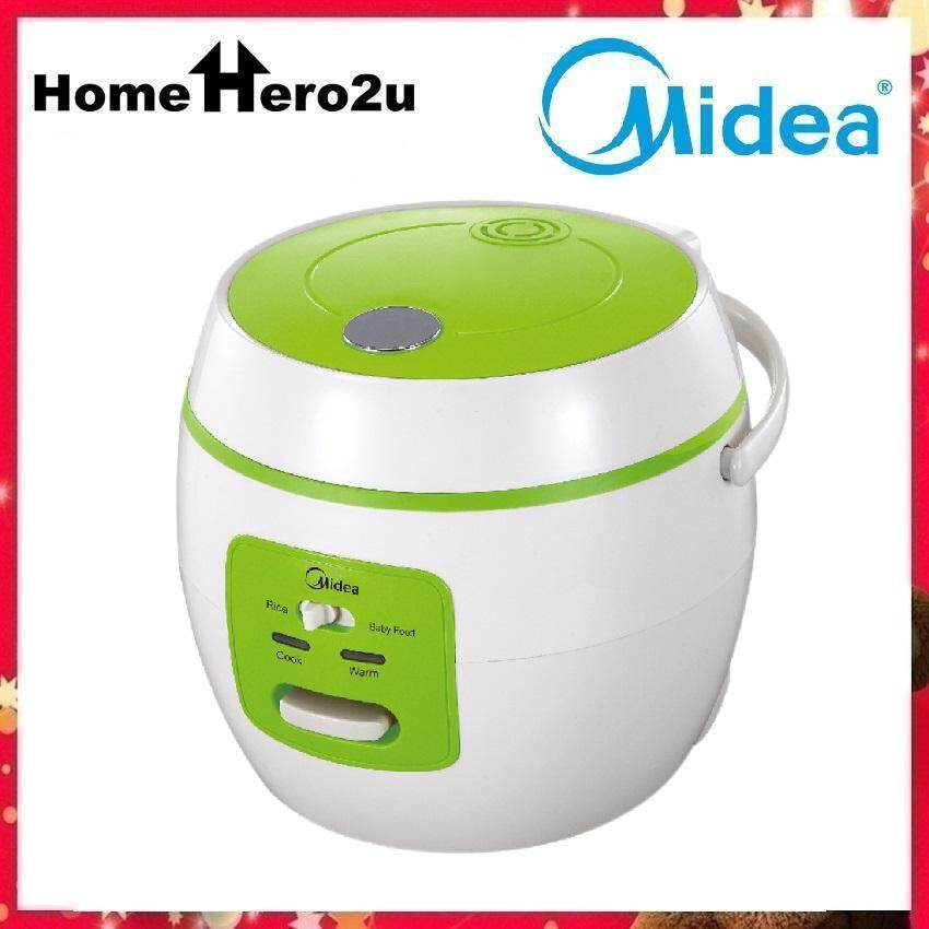 Midea MB-07OB 0.8L Mini Rice Cooker with Porridge Function (Orange) - Homehero2u