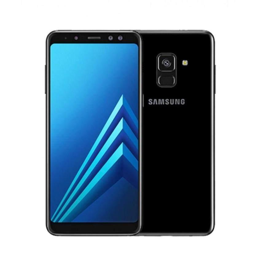 Samsung Galaxy A8 2018 [4GB RAM/32GB ROM] Original Samsung Malaysia Set (Black)