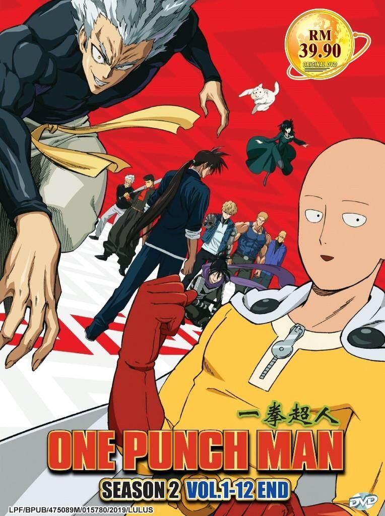 One Punch Man Season 2 Vol 1-12 End Anime DVD