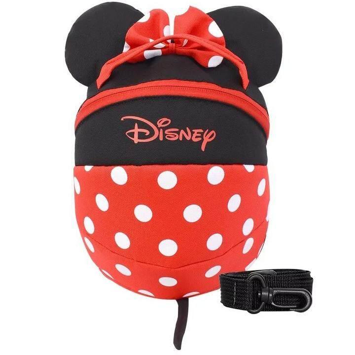 Disney Mickey Minnie Kids Anti-lost Backpack