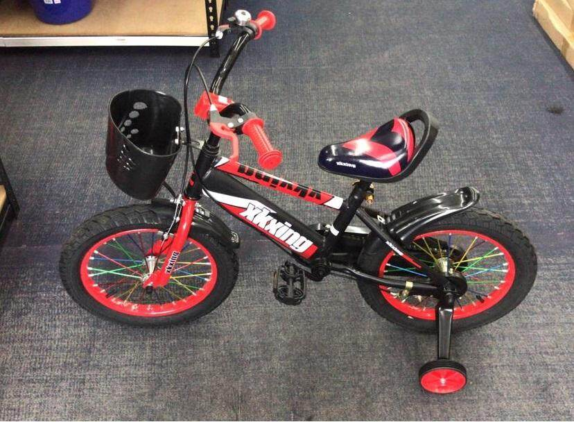 (OW) XKXing 16 Inch DIY Kids Bicycle With Training Wheel- 80 x 115 x 53(H) cm