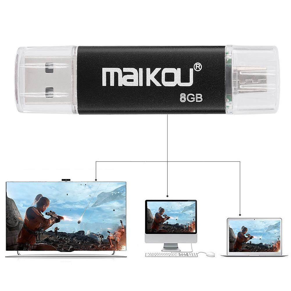 Storage & Hard Drives - High USB 0 Stick Drive OTG 2 Speed Memory Flash U Disk Dual-use Black Portable - [8G / 16G / 32G / 64G / 128G]
