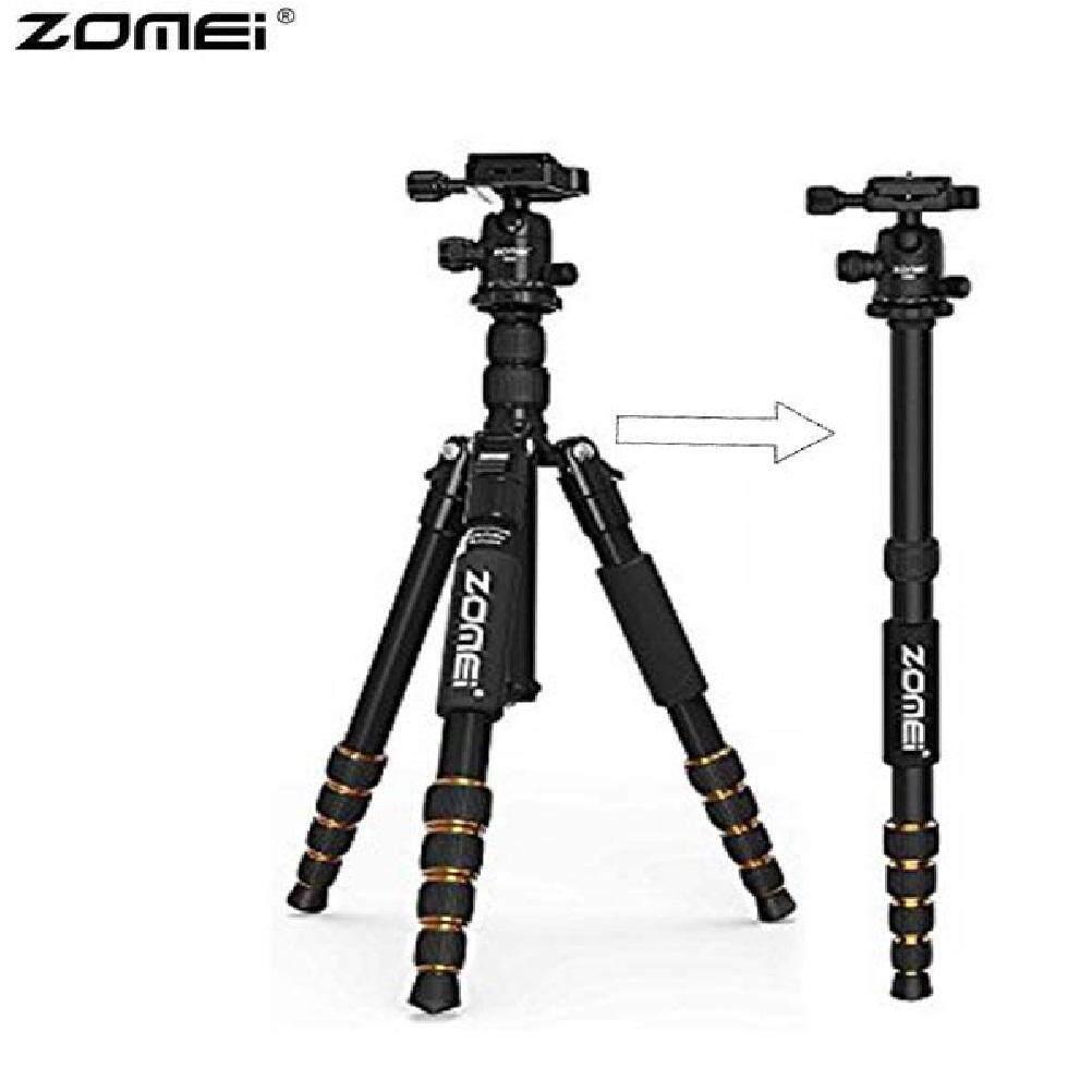 Zomei Q666 Camera Tripod monopod professional with Ballhead