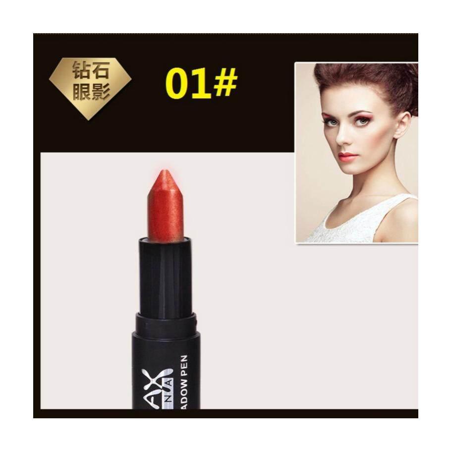 MAXDONA Eyeshadow Pen - Maroon + White (Code 01)