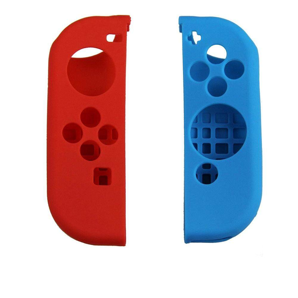 Protective Silicone Joy-Con Controller Black Case For Nintendo Switch