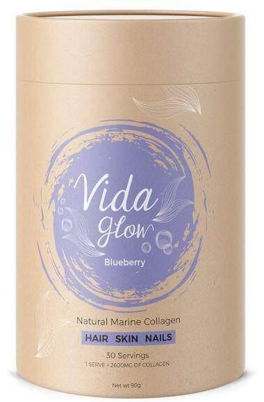 Vida Glow Blueberry 3g x 30 sachets nature collagen marine collagen