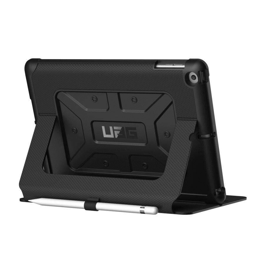 "Original UAG - Metropolis Case for New iPad 2017/2018 9.7"" (Black, Magma)"