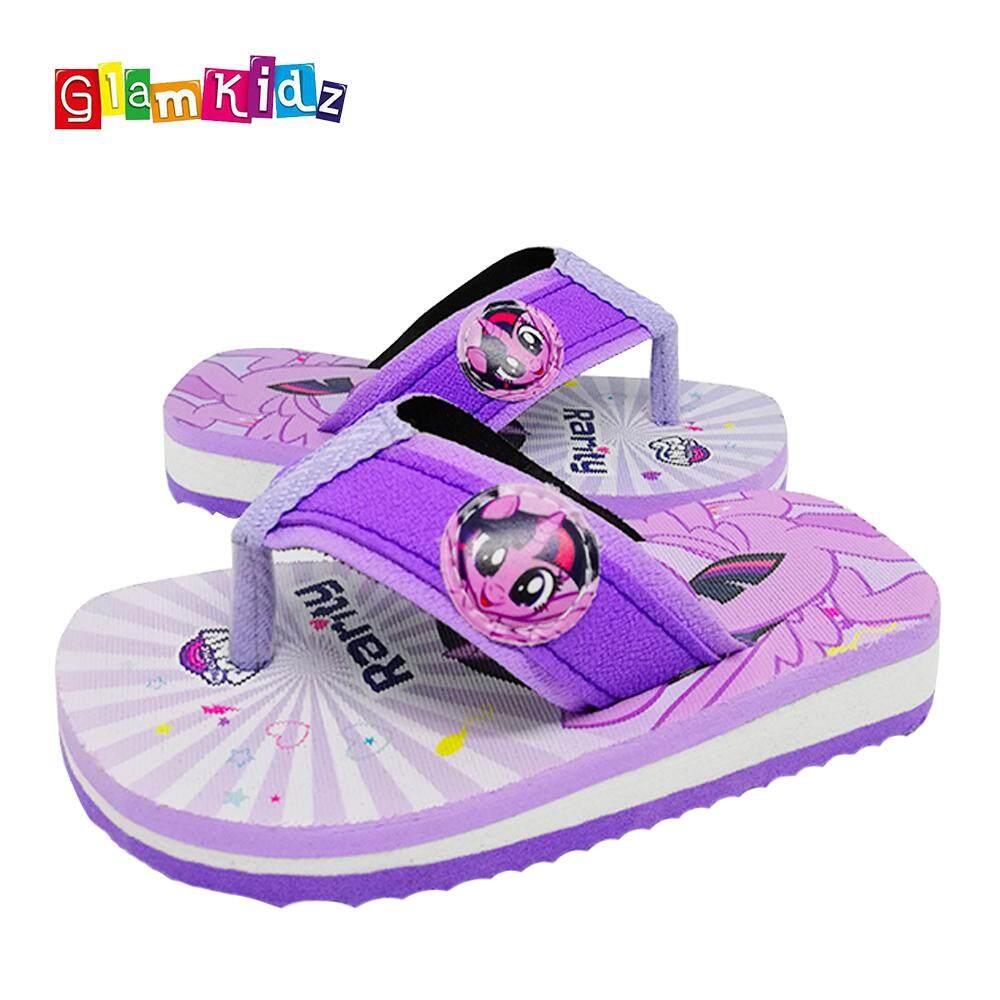 55282b9aedb GlamKidz My Little Pony Girls Slippers (Purple)  2601