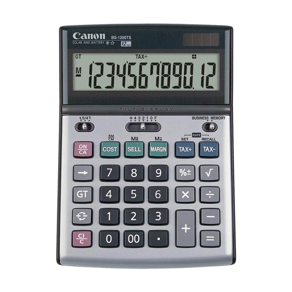 Canon BS-1200TS 12 Digits Desktop Calculator