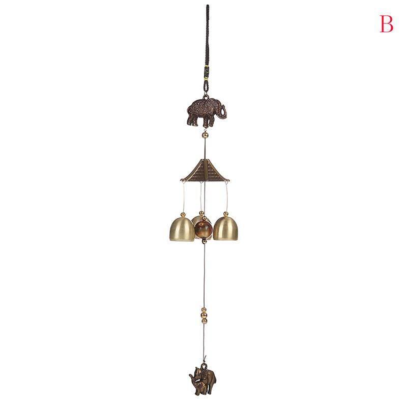Antik Lonceng Angin Cooper Tabung Bells Taman Hiasan Gantungan Dinding Ornamen B Hangat