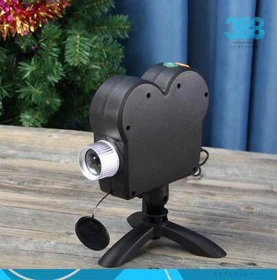 【READY STOCK】Portable Holiday Video Window Projector Lamp Halloween Christmas Light With 12 Movies