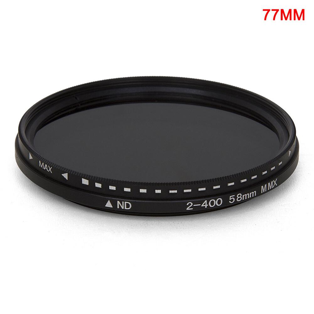 Faderเปลี่ยนแปลงได้ND FilterปรับND2ถึงND400ความหนาแน่นเป็นกลางสำหรับเลนส์กล้องถ่ายรูป