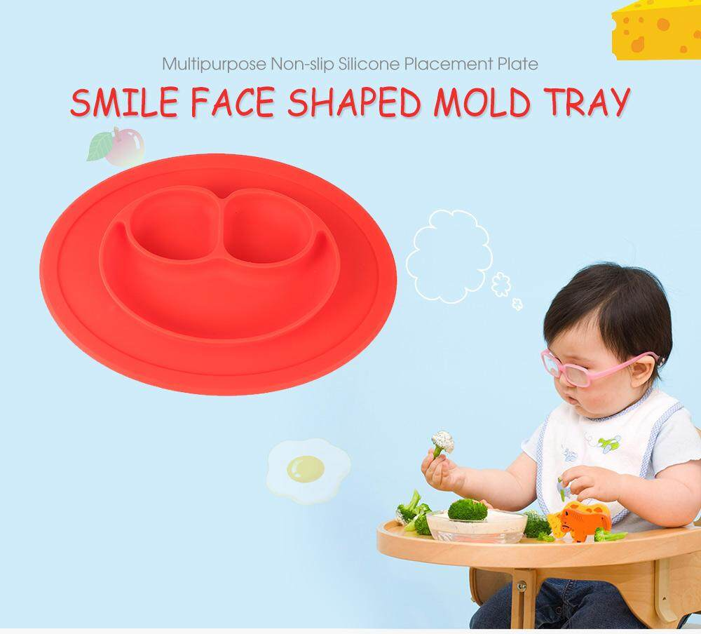 MULTIPURPOSE NON-SLIP PLACEMENT SILICONE PLATE MOLD TRAY
