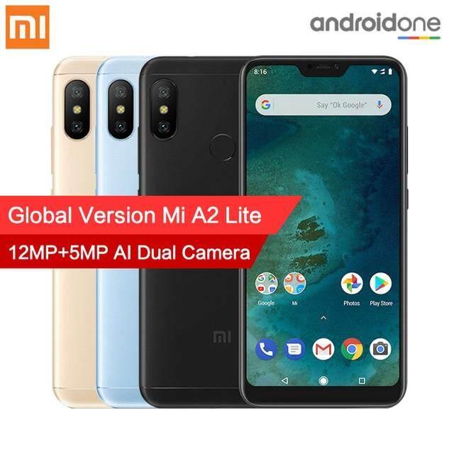 ยี่ห้อนี้ดีไหม  ตาก Global Version Xiaomi Mi A2 Lite (3 GB 32 GB/4 GB 64 GB) สมาร์ทโฟน