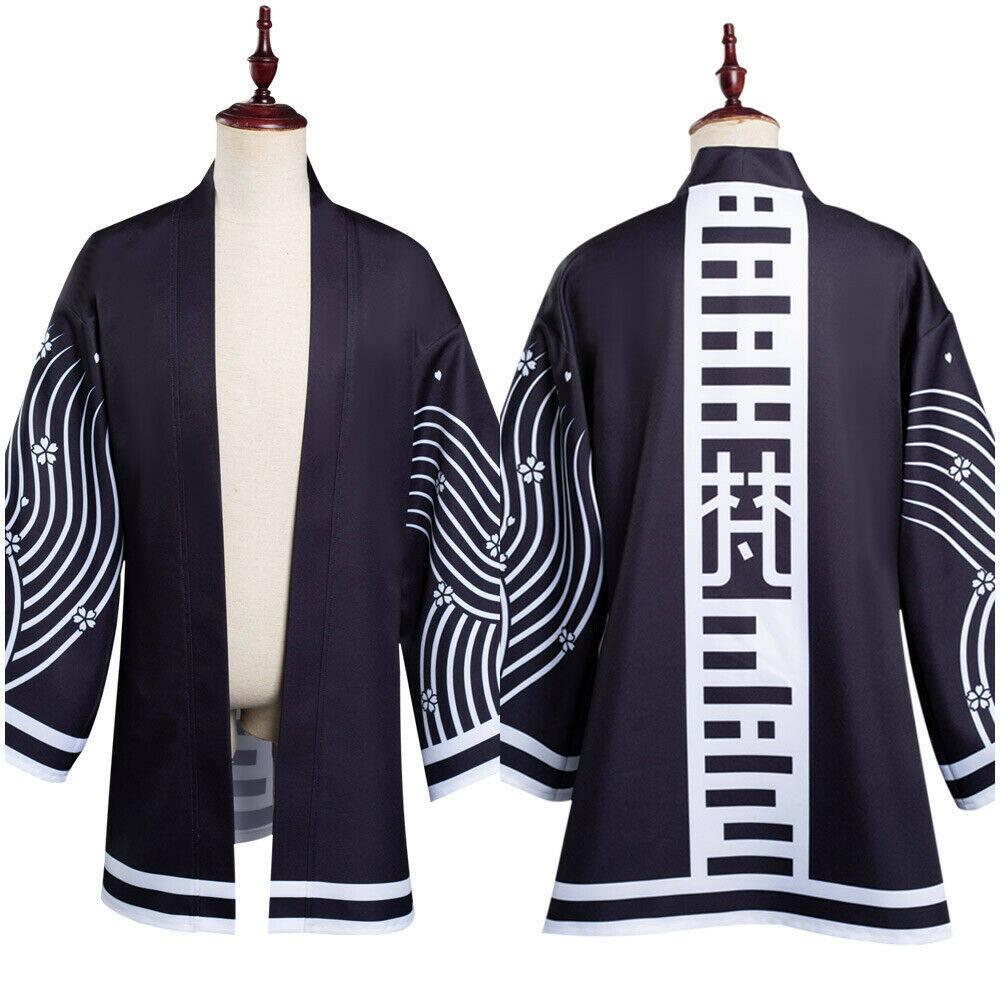 Trang Phục Hóa Trang Đại Sứ Tokyo Kawaragi Senju Haori Wakasa Imaushi Áo Choàng Trang Phục Kimono Halloween