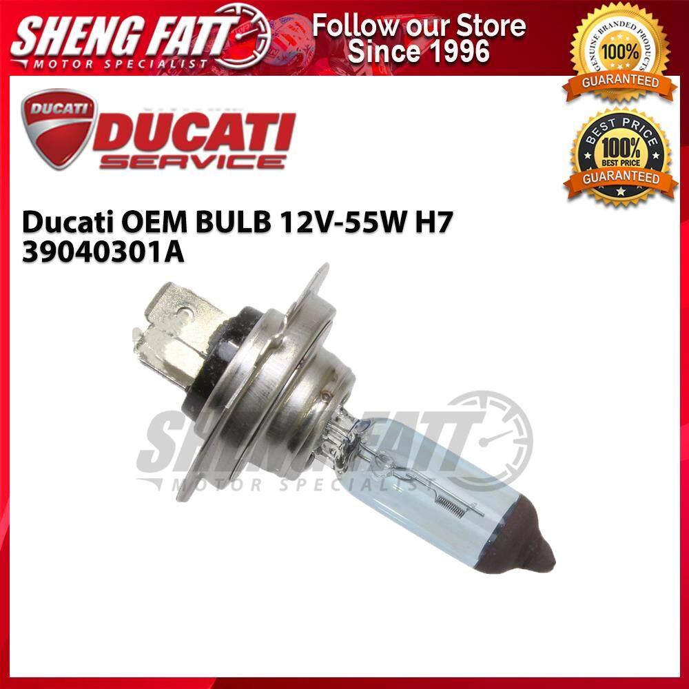 Ducati OEM BULB 12V-55W H7 39040301A - [ORIGINAL]